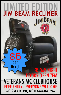 Jim Beam Recliner